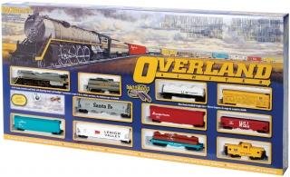 Start set HO BACHMANN - Overland Limited