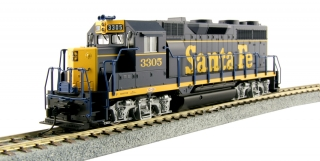 "Kato HO EMD GP35 - Santa Fe ""Dress Blue"" #3305"