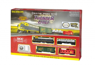 Start set HO BACHMANN - Thunder Chief - DCC + Sound