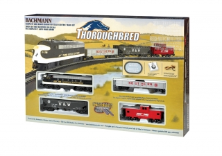 Start set HO BACHMANN - Thoroughbred