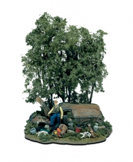 Woodland Scenics Mini-Scene® - Lovec - HO Scale Kit