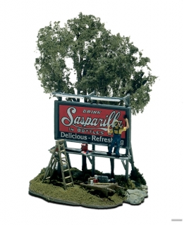 Woodland Scenics Mini-Scene® - Malíř billboardu - HO Scale Kit
