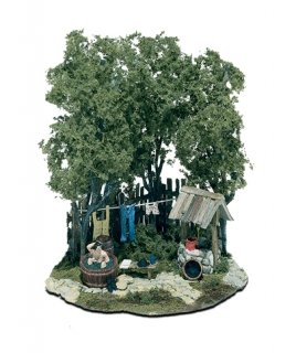 Woodland Scenics Mini-Scene® - Sobotní koupel - HO Scale Kit
