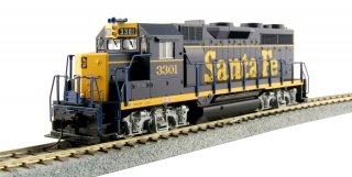 "Kato HO EMD GP35 - Santa Fe ""Dress Blue"" #3301"