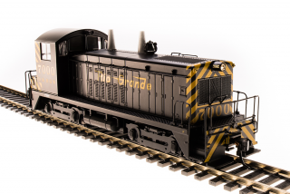 Broadway Limited EMD NW2 Switcher, D&RGW #7000, Black and Gold - DCC + Sound