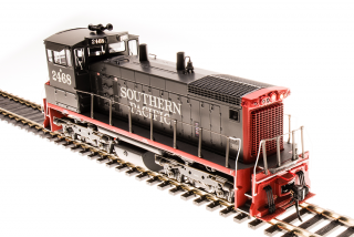 Broadway Limited EMD SW1500, Southern Pacific #2468, Bloody Nose - DCC + Sound