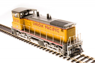 Broadway Limited EMD SW1500, Union Pacific #1320, Yellow & Gray - DCC + Sound