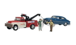 Woodland Scenics - Wayne Recker's Tow Service - HO Scale