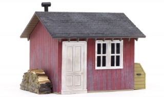 Woodland Scenics Work Shed - O Scale