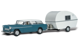 Woodland Scenics - Thompson's Travelin' Trailer - HO Scale