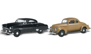 Woodland Scenics - Cruisin' Coupes - HO Scale