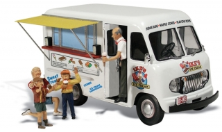 Woodland Scenics - Ike's Ice Cream Truck - HO Scale