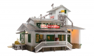 Woodland Scenics H&H Feed Mill - O Scale