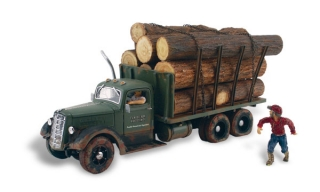 Woodland Scenics - Tim Burr Logging - HO Scale
