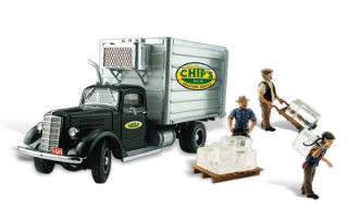 Woodland Scenics - Chip's Ice Truck - HO Scale