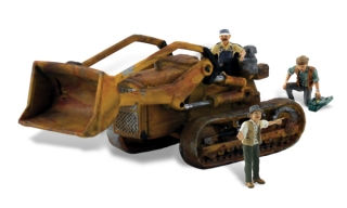 Woodland Scenics - Fritz's Front Loader - HO Scale