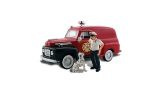 Woodland Scenics - Sparky & The Chief - HO Scale