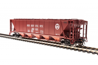 Broadway Limited HO - H32 Covered Hopper, PRR - 2ks
