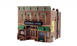 Woodland Scenics Lubener's General Store - O Scale