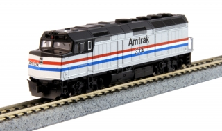 KATO N EMD F40PH - Amtrak Phase III #374