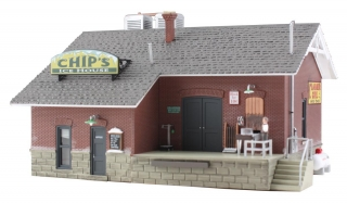 Woodland Scenics Chip's Ice House - HO Scale