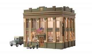 Woodland Scenics Citizens Savings and Loan - HO Scale