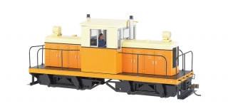 Bachmann On30 Whitcomb 50-Ton - orange & cream - bez označení - DCC