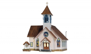 Woodland Scenics Community Church - HO Scale