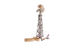 Woodland Scenics Old Windmill - HO Scale