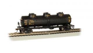 Bachmann HO 40 FT Three-Dome Tank Car - UTLX #59814