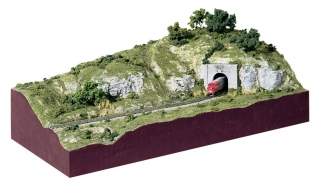 "Woodland Scenics ""The Scenery Kit"" - N stavba diorama"
