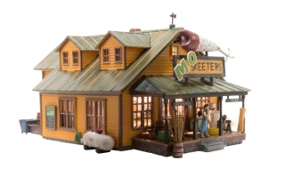 Woodland Scenics Mo Skeeters Bait & Tackle - HO Scale