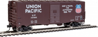 Walthers Mainline HO 40´ AAR Modernized 1948 Boxcar - Union Pacific(R) #107085