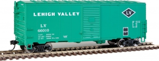 Walthers Mainline HO 40´ AAR Modernized 1948 Boxcar - Lehigh Valley #66010