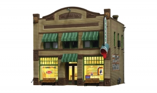 Woodland Scenics Dugan's Paint Store - HO Scale