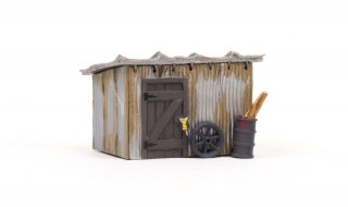 Woodland Scenics Tin Shack - HO Scale