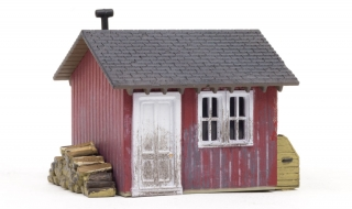 Woodland Scenics Work Shed - HO Scale