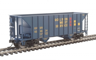 Walthers 34' 100-Ton 2-Bay Hopper - Golden West #629524