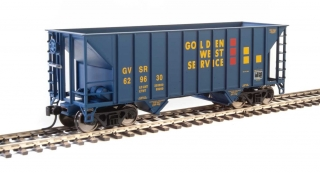 Walthers 34' 100-Ton 2-Bay Hopper - Golden West #629630