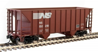 Walthers 34' 100-Ton 2-Bay Hopper - Norfolk Southern #150281