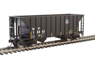 Walthers 34' 100-Ton 2-Bay Hopper - Western Pacific UP #10997