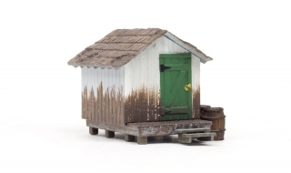 Woodland Scenics Wood Shack - HO Scale