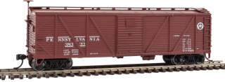 Walthers Mainline HO 40' USRA Wood Boxcar - Pennsylvania Railroad #38333