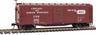 Walthers Mainline HO 40' USRA Wood Boxcar - Chicago & North Western #3387