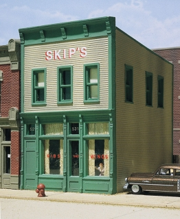 Woodland Scenics Skip's Chicken and Ribs - HO Scale Kit