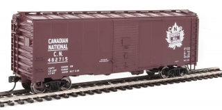 Walthers Mainline HO 40´ AAR 1944 Boxcar - Canadian National #482715