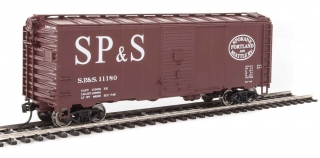 Walthers Mainline HO 40´ AAR 1944 Boxcar - Spokane, Portland & Seattle #11180