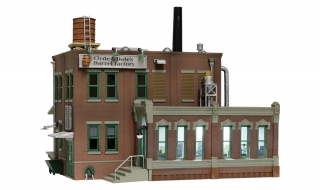 Woodland Scenics Clyde & Dale's Barrel Factory - N Scale