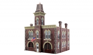 Woodland Scenics Firehouse - N Scale