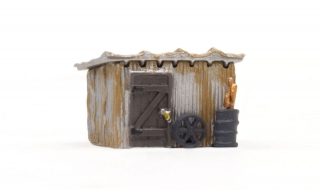 Woodland Scenics Tin Shack - N Scale